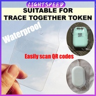 【Hot】Ezlink Charm Protector Cover +Lanyard Trace Together Token Protector
