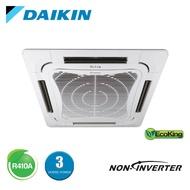 DAIKIN Air Conditioner Cassette 3.0HP R410A Non-Inverter (FCN-F Series)