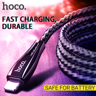 HOCO RESEND Zinc Alloy USB Type C Lightning Cable for iphone nylon Braided Fast Chargin Data Sync