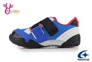 Moonstar 月星 Carrot 日本機能鞋 中童 玩耍速乾 穩固交叉帶 腳踏車鞋 運動鞋 I9667#藍色 奧森