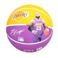 SPALDING 湖人-詹姆士 LeBron 籃球 #SPA83848(附球針 7號球【SPA38155】≡排汗專家≡