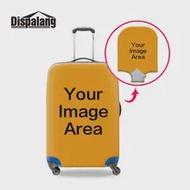 CUSTOM CUSTOM การออกแบบของคุณเองป้องกันกระเป๋าเดินทาง S/M/L/XL 18 20 22 24 26 28 30 32 นิ้วกระเป๋าเดินทางอุปกรณ์เสริม
