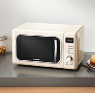 Circle kitchen WB01S household automatic mini small turntable convection oven smart retro microwave oven integrated