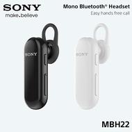 SONY MBH22 原廠單聲道藍牙耳機 藍芽耳機 Bluetooth 無線 耳塞式 Type C 語音 音樂播放【神腦貨】