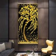 "New DIY5D Diamond Painting""Fortune tree,money tree "" 3D DiamondEmbroidery Wall Sticker Home DecorCraftsGift"