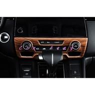 涔峰CF☆( 木紋) HONDA CR-V 5 CRV 5代 CRV5 空調開關面板 冷氣面板 中控音響面板