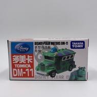Tomica Disney Dm-11 初版毛怪校車