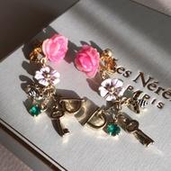 Les Nereides 幸運的六月 夾式耳環