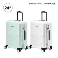 Free Shipping LocknLock กระเป๋าเดินทาง UNBALANCE CARRIER ABS 24 นิ้ว รุ่น LTZ902 ของมันต้องมี!