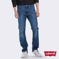 【LEVIS】男款 513 修身直筒牛仔褲 / 水藍刷白 / 彈性布料