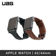 UAG|Apple Watch 皮革錶帶|(42/44mm)