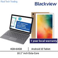 """Free Leather Case Blackview Tab 8 Tablet Android 10 Tablet6580 MAH Battery 10.1"""" inch Octa-Core 4GB+64GB"""