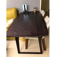 二手原木餐桌 高質感