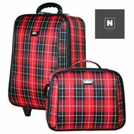 ร้านแนะนำ กระเป๋าเดินทาง 20/14 นิ้ว เซ็ทคู่ Code 373-6 Scott (Red) กระเป๋าเดินทาง