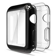 [NP] 2 PACKหน้าจอแบบอ่อนป้องกันกรณีกันชนเข้ากันได้กับApple Watch 42mm 44Mm 38Mm 40Mm Series 6 5 4 3 / SE 2 Pack Full Coverage Case ReplacementสำหรับApple Watch