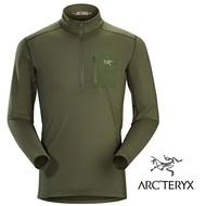 【ARCTERYX 始祖鳥 加拿大】Rho LT 長袖彈性保暖排汗衣 內層衣 機能保暖衣 運動上衣 男款 瓜依綠 (L07051800)