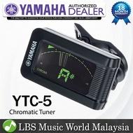 Yamaha YTC5 Clip On Chromatic Tuner For all Instrument Guitar Ukulele Bass