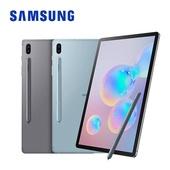 《Samsung》鍵盤皮套組 Galaxy Tab S6 LTE 八核心通話平板電腦(藍色)