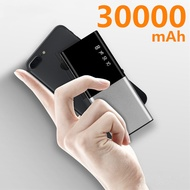 Power Bank 30000MAhสำหรับสมาร์ทโฟนPowerbankภายนอกแบตเตอรี่แบบพกพาPowerbank Poverbank