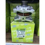 [明煒汽材] 裕隆 Nissan TEANA 2.0 09-17年 120A 單向 台灣法雷奧 全新品 發電機