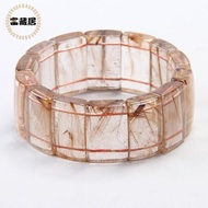 【富藏居】天然珍稀咖啡金鈦晶手排(111G)