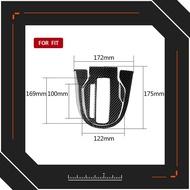 【重磅超質感】适用于本田飞度fit/Jazz碳纤维中控档位排档框装饰贴汽车改装配件