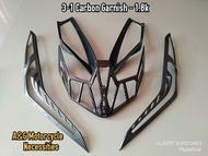 Garnish For Honda Click v2 - 125i/150i (3 in 1) Original Accessories