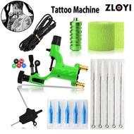 ZLOYI รอยสักแฟชั่นฝีมือประณีตอุปกรณ์สักลายอุปกรณ์เครื่องสัก 5 เข็มเข็มสักชุดเครื่องมือ - INTL