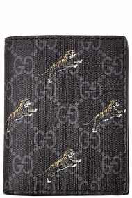 Gucci Mens  Gg Tiger Wallet
