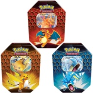 TGC Pokemon TCG Hidden Fates Tin Charizard/GY