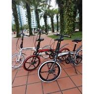 Hito X4 Special Spoke Wheels 20 Inch foldable folding bike bicycle (Aluminium) - Design Germany