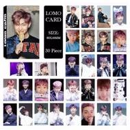 BTS Bangtan Boys WINGS Rap Monster Photo Album Kpop LOMO Cards Self Made Paper Card HD Photocard - intl
