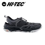 【HI-TEC】輕量護指涼鞋(男)-黑