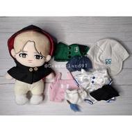 BTS Jimin Fansite Doll (20 cm) set