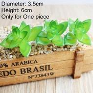 สีเขียวบอนไซเล็กไม้อวบน้ำประดิษฐ์พืชในบ้านและสวนตกแต่งปลอม39รูปแบบ Pick Up Diy Plante Artificielle