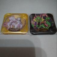 現貨 正版 神奇寶貝 tretta z3彈  第13彈 金卡究極級別+黑卡傳說級別  超夢+烈空座 加送紫p一張