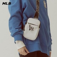 【MLB】迷你斜背包 Seamball系列 紐約洋基隊(32BGDZ111-50W)