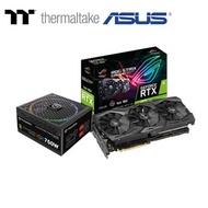 Thermaltake曜越 Toughpower Grand RGB 750W 電源供應器 + ASUS華碩 ROG-STRIX-RTX2070-A8G-GAMING 顯示卡