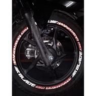 AIRBLADE150 REFLECTIVE MAGS DECALS