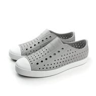 native JEFFERSON 洞洞鞋 男女鞋 灰色 11100100-1501 no453