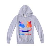 2020 ใหม่ 10yrs ผ้าฝ้ายกีฬา H oodies เกมการ์ตูน Marshmello เด็กเสื้อผ้ายามเสื้อเสื้อกันหนาว B1000 8yrs 6yrs 4yrs hoodies