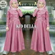 Kaella Maxy Kids Terbaru 2021 Modern Lebaran / Gamis Brokat Anak Perempuan / Gamis Anak Perempuan / Dress Anak Perempuan / Dress Brukat Anak / Baju Muslim Anak Perempuan / Baju Gamis Anak Tanggung / Gamis Anak Pesta / COD