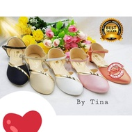 รองเท้าคัชชูรัดส้นเด็กผู้หญิง รองเท้าเด็ก ใส่ไปงาน เด็กโต ไซส์ 31-36