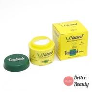 V Natural Whitening Temulawak Night Cream / Temulawak Night Cream