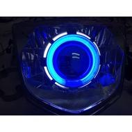 Rs zero 遠近魚眼燈具組 含線組 45w hid 燈管 光圈 整套2800