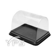 C106木頭蛋糕盒(底PS/蓋PET) (木頭蛋糕/年輪蛋糕/瑞士捲/海綿蛋糕/芋泥捲/展示盒)【裕發興包裝】YD011