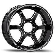 "EmotionR Wheel TE37-U ขอบ 18x10.5"" 6รู139.7 ET+25 สีBKMS ล้อแม็ก อีโมชั่นอาร์ emotionr18 แม็กรถยนต์ขอบ18"