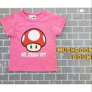 預購《🇰🇷正韓童裝✈》超級瑪莉香菇T恤