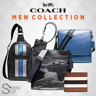 COACH MENS COLLECTION - WALLETS BELTS  AND BAGS