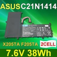 ASUS 華碩 2芯 C21N1414 日系電芯 電池 EeeBook F205TA X205 X205T X205TE X205TA